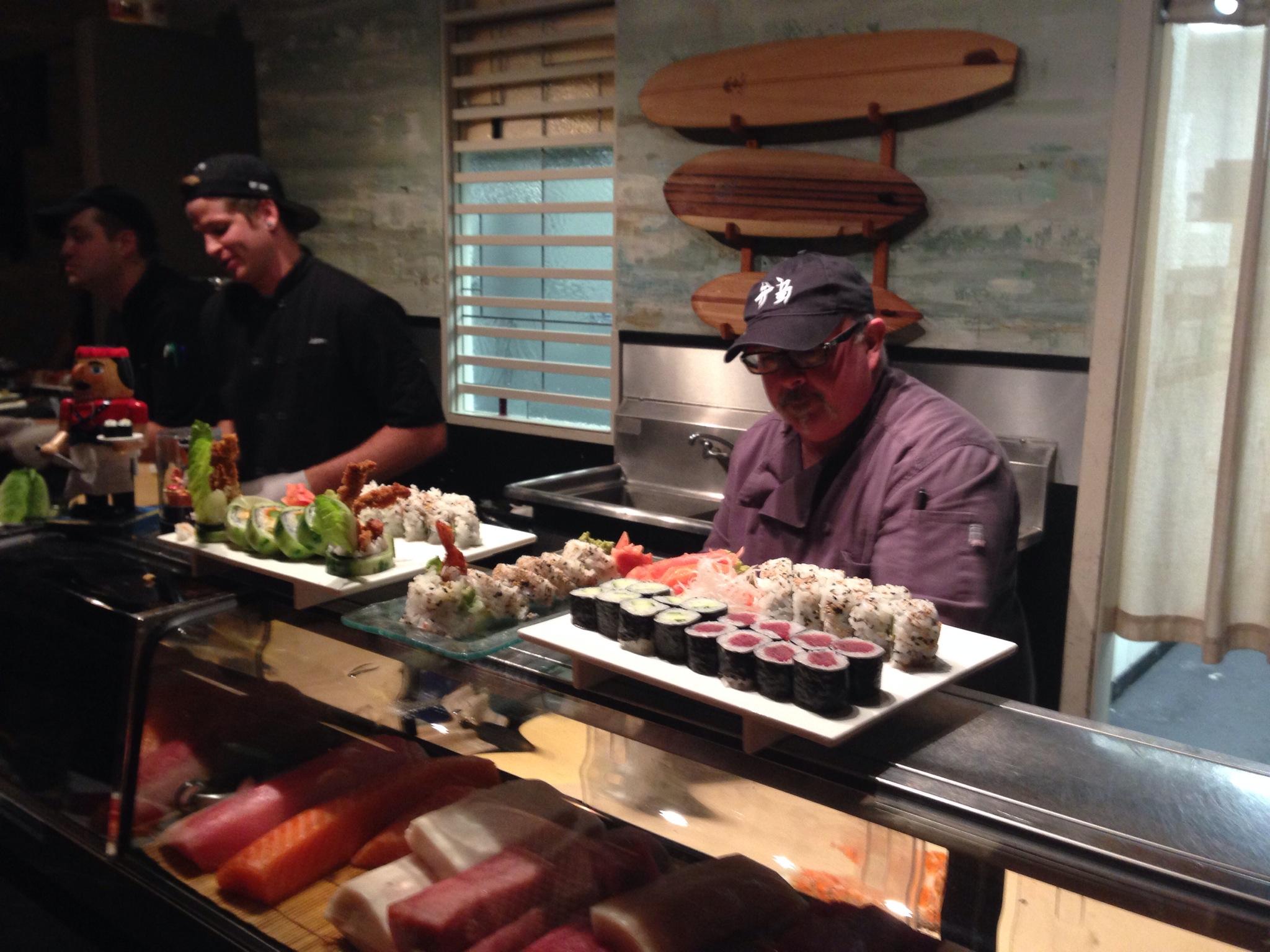 Chef Lee Grossman Bento Box Sushi
